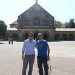 Visting Stanford.