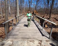 Forest-Stream Pedestrian Bridge, New York Botanical Garden, Bronx, New York City (jag9889) Tags: city nyc bridge ny newyork forest stream footbridge belmont bronx bridges pedestrian borough botanicalgarden nybg waterway newyorkbotanicalgarden bronxriver bronxpark 2013 jag9889