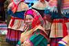 Flower Hmong Lady (www.garymcgovern.net) Tags: market vietnam tribes sapa bacha flowerhmong bachamarket