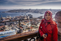 Istanbul | View of Golden Horn From Galata Tower | Beyoglu (wazari) Tags: city travel art history classic architecture photoshop vintage turkey photography ancient asia europe european place artistic ataturk minaret islam faith religion culture istanbul mosque retro photograph adobe journey dome destination historical ottoman taksim middleages secular turkish byzantine bosphorus masjid asean cultural turk sultanahmet traveler galata constantinople islamicart travelphotography galatatower stamboul travelphotographer wazari senibina wazariwazir