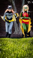 Sirene and CourtoonXIII as Batgirl and Robin Anime St. Louis 2013 Batman DC Cosplay (WhiteDesertSun) Tags: anime robin st louis dc cosplay action courtney convention batman batgirl nina con sirene courtoonxiii catalystsirene