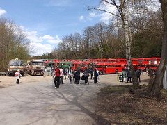 London Bus Display (PD3.) Tags: guy buses museum vintage 40th spring coach anniversary transport surrey gathering trust april cobham routemaster 40 annual preserved 80 regal lt rf preservation psv pcv brooklands aec wisely lt80 vixan lbpt londonbusmuseum 2013london