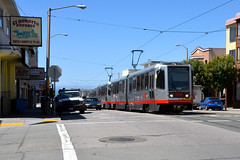 Muni 1526 [San Francisco tram] (Howard_Pulling) Tags: sanfrancisco camera usa america us nikon tram april trams strassenbahn 2013 hpulling d5100