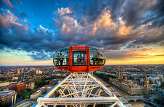 The Top of London - Explored (Basic Elements Photography) Tags: uk travel light sunset shadow england sun motion color london beautiful westminster clouds canon landscape photography high energy europe dof dynamic unitedkingdom pov mark londoneye parliament bigben icon explore ii ferriswheel 5d range hdr westminsterabby eyeoflondon edf photomatix londonsunset tonemapped tonemapping explored westministerbridge 5dmarkii mygearandme mygearandmepremium edfenergylondoneye