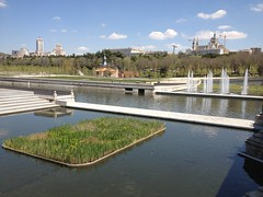 Manzanares River (markjelinsky) Tags: madrid espaa ro river de real spain community europa europe union royal el palace spanish comunidad reino palacio espaol manzanares
