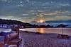 Sunset in Highlands [EXPLORE] (Moniza*) Tags: sunset sky seascape nature silhouette clouds sunrise landscape newjersey highlands twilight nikon nj explore shore jersey bluehour jerseyshore d90 explored moniza