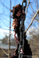 Draculaura the Steampunk (Sarimus) Tags: ooak dracula custom mattel steampunk monsterhigh draculaura