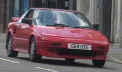 1989 TOYOTA MR2 (Yugo Lada) Tags: old cars car photo nice driving surrey retro toyota vehicle 1989 rare mr2 esher g98uye