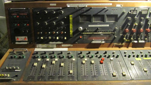 BBC mixing desk at Hack Green Secret Nuclear bunker
