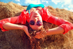 Her World Is Upside Down (Damaris Roux) Tags: party summer vacation people art nature girl photography photo nikon flickraward ringexcellence
