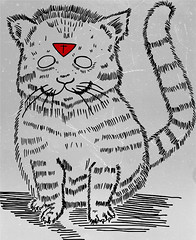 -- (eveorea) Tags: eve original white eye art strange lines monster mxico triangles digital ink cat photoshop dark dead death skull design weird sketch crazy artwork eyes triangle different cross designer drawing unique gothic goth sketching creative hipster kitty evil surreal style creepy odd doodle hardcore monsters doodles draw sketches twisted vector ilustration bizarre abnormal stratosphere monters triangulo mounstruo orea upsidedowncross triangulos invertedcross eveorea