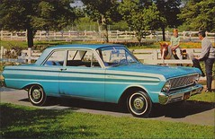 1964 Ford Falcon 2 door Try TOTAL performance for a change (1950sUnlimited) Tags: travel cars ford advertising design style vehicles transportation postcards falcon 1960s advertisements classiccars automobiles midcentury