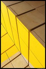 Close Up Varini (imaGilaire) Tags: paris closeup jaune walls murs 2013 felicevarini imagilaire
