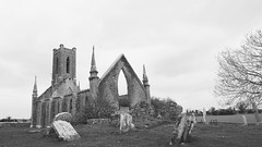 Ballinafagh church..~Explored #102 (Wendy:) Tags: old church monochrome kildare prosperous explored ballynafagh