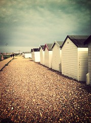 124/365 Beach huts at Goring (rachepache) Tags: beach huts beachhuts uploaded:by=flickrmobile flickriosapp:filter=mammoth mammothfilter