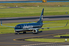 N548AS (sabian404) Tags: alaska cn plane portland airplane airport aviation international pdx boeing airlines 737 ln 1738 kpdx b738 30020 alaskaaircom n548as 737890