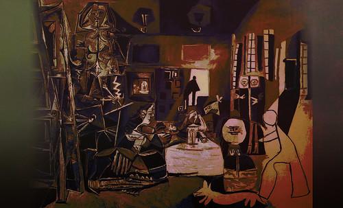 """Meninas, iconósfera de Diego Velazquez (1656), estudio de Francisco de Goya y Lucientes (1778), paráfrasis y versiones Pablo Picasso (1957). • <a style=""""font-size:0.8em;"""" href=""""http://www.flickr.com/photos/30735181@N00/8746857269/"""" target=""""_blank"""">View on Flickr</a>"""