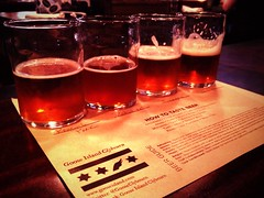Malty flight. /cc @GooseClybourn (tswicegood) Tags: beer flight winning gooseislandbrewpub uploaded:by=flickrmobile flickriosapp:filter=orangutan orangutanfilter
