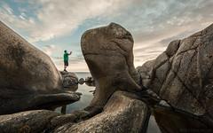 Camera Raw (Glenn Meling) Tags: ocean sunset sea water norway rock landscape norge formation hvaler rockformation cameraraw stoneformation herfl glennmeling wwwglennmelingcom