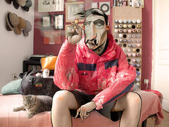 Cisco (Dr Case) Tags: portrait by photoshop graffiti artist experiment smoking cisco writer athome ksl splif photocomposition symbiosis withcat drcase andtattoo artistswithcharacter