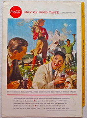 1958 - 1950s Vintage Coca Cola Advertisement From National Geographic Back Page 28 (Christian Montone) Tags: vintage ads advertising coke americana soda cocacola advertisements sodapop vintageads vintageadvert