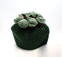 Trees On A Hill Tea Cosie (GezuntehMoid) Tags: trees english landscape scenery hill novelty housewarming crocheted grassyknoll teaandsympathy teapotwarmer teacosie retirementgift
