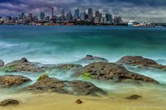 Bradley Head Sydney (RMD-Imagery) Tags: city beach water landscape sand rocks exposure day slow head sydney australia bradley