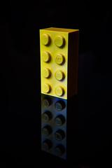The Classic LEGO Brick (jtat_88) Tags: polaroidcloseupfilter legobrick brick lego none sonya7 sony ilce7 mirrorlesscamera macro filter reflection artistic