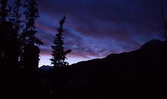 Amanecer I (Volvtil) Tags: chile sky mountain colors clouds outdoor amanecer cajondelmaipo