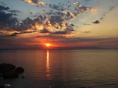 06:00..the morning sun (panoskaralis) Tags: sunrise sun clouds sky morning seaside sea bluesea beach mytilene port lesvosisland lesbos island greece hellas summer greeksummer summerholidays holidays