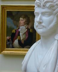 coup double (1) (canecrabe) Tags: jozefponiatowski prince pologne cracovie marchal empire napolon buste sculpture peinture portrait jakubtatarkiewicz sculpteur