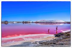 Saline di Aigues Mortes - Camargue (marypink) Tags: camargue provenza francia salinediaiguemortes sale sky water reflections nikond5200 nikkor1635mmf4