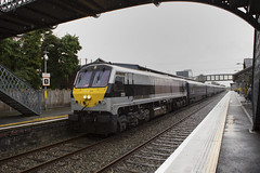 233 on Galway-Athlone Belmond trial train passing Athenry 25-Aug-16 (metrovick) Tags: belmond grandhibernian 201class ie201class ie216 mk3 brelmk3 emd emdexportloco jt42hcw railroad railway railwaygalway athenry