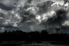 A Stormy Afternoon (jomak14) Tags: stormclouds bw iphone6plus