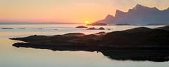 Sunrise at Lofoten 2016. (Gord McKenna) Tags: gordmckenna gord mckenna dan ballard photography photo course stitch pano panorama lightroom norway sunrise mountain atlantic ocean european vacation 2016
