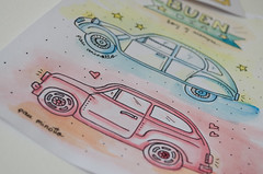autos (pau.minotto) Tags: fiat600 citroen wate watercolor lovely