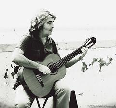 Ricardo Oliva (Natali Antonovich) Tags: sitges catalonia spain portrait guitarist guitar monochrome lifestyle seasideresort seashore seaside seaboard ricardooliva