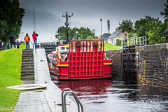 Neptune Locks Staircase, Fort William, Scotland (safc1965) Tags: fort william scotland neptune locks staircase caledonian canal