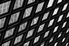 Seattle Central Library DSC03994-Edit (nianci pan) Tags: abstract seattle centrallibrary curve line pattern geometry geometric city cityscape landscape urban nianci pan sony sonyalpha dslr sonyphotographing architecture building reflection
