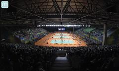 Rio 2016 - Badminton - Rio Centro Pavilho 4 (marcelo nacinovic) Tags: riodejaneiro rio rioolympics rio2016 olympicgames olimpadas olympics olimpadas2016 olympics2016 badminton riocentro pavilho4 brasil brazil brasilien brazilian bresilien brsil brt metr pousada hostel esporte sport medalha quadra court ginsio stadium estadio arena marcelonacinovic nacinovic gopro hero session arquibancada 50
