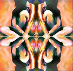 2016-08-18 jeudi symmetrical nude paintings 3JPG (april-mo) Tags: symmetry symmetrical mirror nu nude painting art womanportrait woman portrait