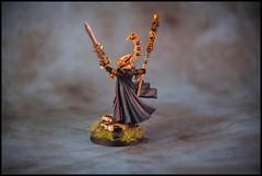 Eldrad Ulthran (feelinstrangelyfine) Tags: 40k eldar eldrad eldradulthran warhammer40k warhammer gamesworkshop miniatures miniaturepainting