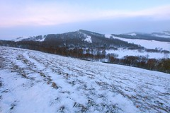 _MG_7254 (c0466art) Tags: 2015 chinese inner mogonlia grassland winter season trip travel early morning sunrise momemt cloudy blue tone mountain white snow world cold weather beautiful landscape scenery trees light canon 1dx c0466art