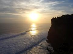 Uluwatu Temple sunset, Bali Island, Indonesia (Picard Alan) Tags: uluwatutemple bali indonesia baliisland uluwatu island view waves indonesiantemple temple