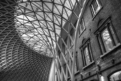 King's Cross Arch (Tom Shearsmith Photography) Tags: london kings kingscross architecture arch modern renovation brick brickwork structure street camden station train tone tonemap hdr photography photoshop photo