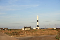 Lighthouse (My photos live here) Tags: lighthouse dungeness kent england headland shingle beach nuclear power station romney marsh canon eos 1000d