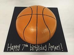 Basketball Cake (tasteoflovebakery) Tags: basketball cake birthday