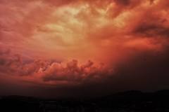 Sunset (heiko.moser (+ 9.500.000 views )) Tags: sunset sonnenuntergang himmel sky wolken light licht red rot canon heikomoser