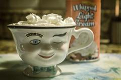 Hot Cocoa (Linda Kosidlo) Tags: odc drink teacup cocoa kitchen