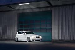 BMW 1 Series E87 (ChrisRBN) Tags: bmw 1er 1 series 1series 3er 3 5er 5 performance m pp white lightpainting light strobe strobist industrie industry audi car auto vw cars autos automotive product produkt blitz flash wheels night dark sony alpha a7 a7r a7ii zeis carl carlzeiss m3 m5 m4 m6 1m